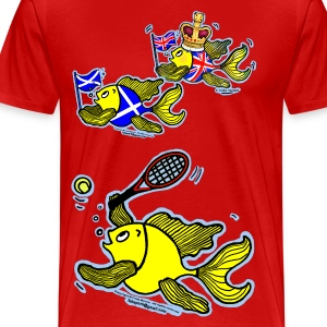 Well Done Andy Murray for winning Wimbledon 2013 - Men's Premium T-Shirt