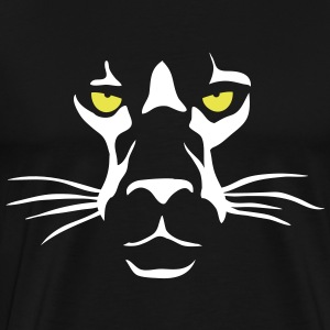 Lion Face T-Shirts - Men's Premium T-Shirt