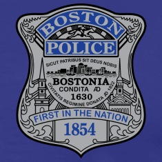 Boston Police Badge Small
