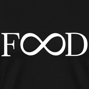 food infinity T-Shirts - Men's Premium T-Shirt