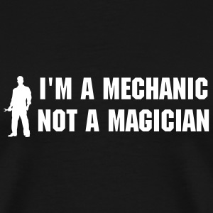 Mechanic Silhouette T-Shirts - Men's Premium T-Shirt