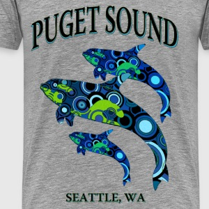 Puget Sound - Seattle - Men's Premium T-Shirt