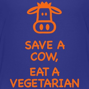 Save a Cow eat Vegetarian Kids' Shirts - Kids' Premium T-Shirt