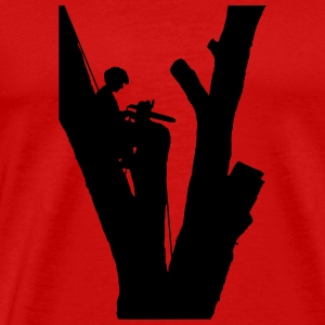 Tree Cutter - Men's Premium T-Shirt