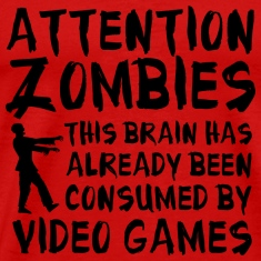 Attention Zombies Video Games