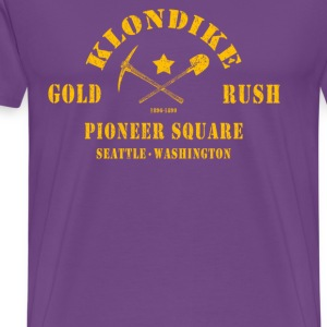 Klondike Gold Rush (gold) - Men's Premium T-Shirt