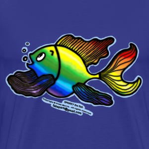 Rainbow Fish - Men's Premium T-Shirt