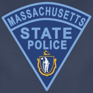 Massachusetts State Police Patch Women's T-Shirts - Women's Premium T-Shirt
