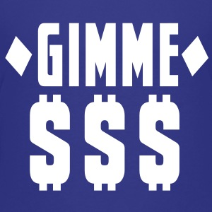 GIMME DOLLARS $$$ with diamonds Kids' Shirts - Kids' Premium T-Shirt