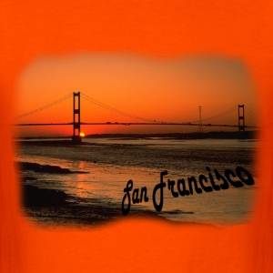 Golden Gate - Men's T-Shirt