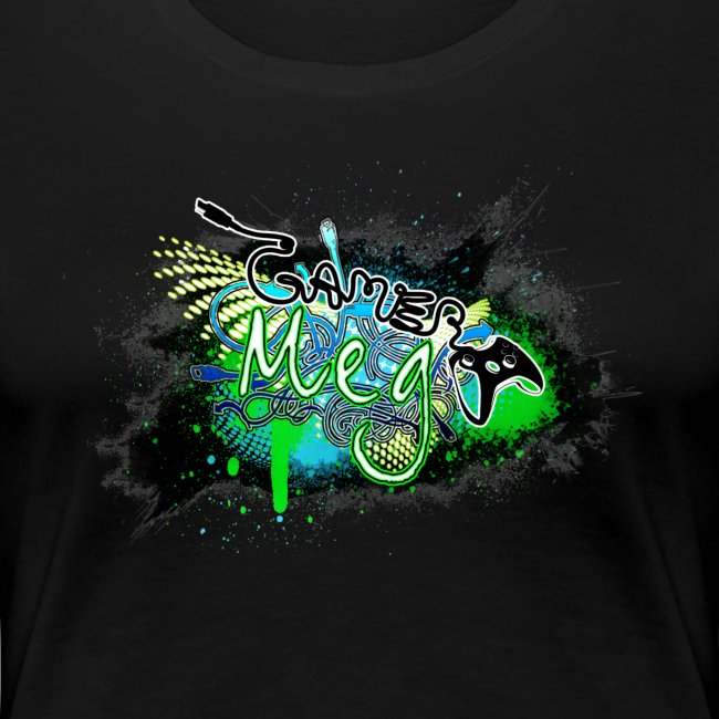 GamerMeg Logo Official Women's T-Shirt