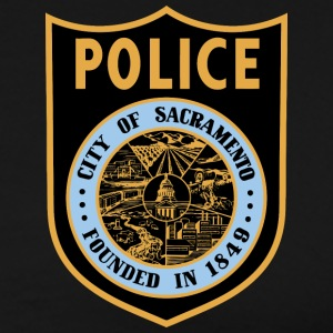 Sacramento Police Patch Shirt - Men's Premium T-Shirt