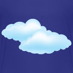 Cloudy Day - Weather - Storm - Clouds Kids' Shirts