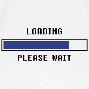 Loading Please Wait Maternity - Men's Premium T-Shirt