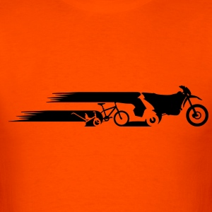 Motorcycle Enduro tail evolution Shirt - Men's T-Shirt