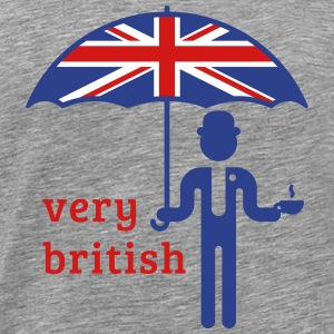 Very British (3C) T-Shirts - Men's Premium T-Shirt
