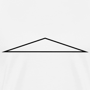 Triangle, in an equal-leg way, identical, angle T-Shirts - Men's Premium T-Shirt