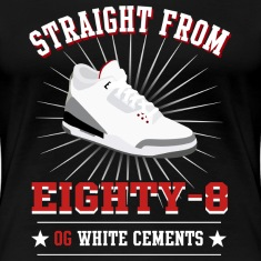 straight from 88 jordan 3 design Women's T-Shirts