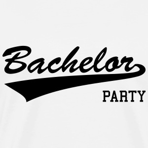 bachelor party,bachelor,parting,bachelors,single T-Shirts - Men's Premium T-Shirt