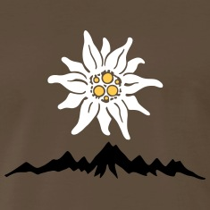 Mountains Edelweiss T-Shirts