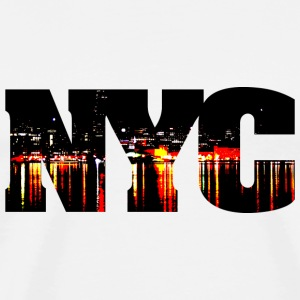 New York City Night - Men's Premium T-Shirt