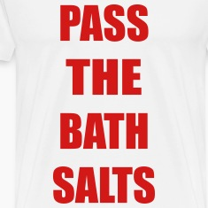 Pass The Bath Salts Funny Vector Design T-Shirts