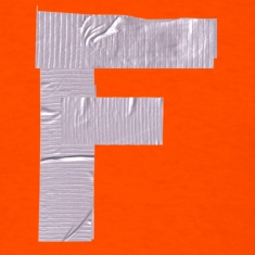 Duct 5 Letter F T-Shirts