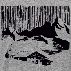Mountain Village T-Shirts - Men's Premium T-Shirt