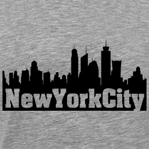New York City Black - Men's Premium T-Shirt