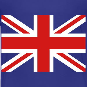 Union Jack central cross Kids' Shirts - Kids' Premium T-Shirt