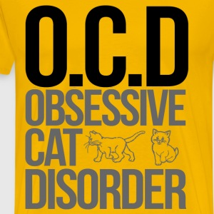obsessive cat disorder - Men's Premium T-Shirt
