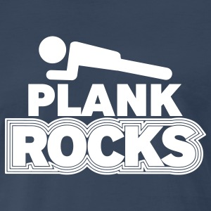 PLANK ROCKS - Men's Premium T-Shirt