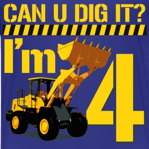 Can U Dig it? I'm 4 - Kids' Premium T-Shirt