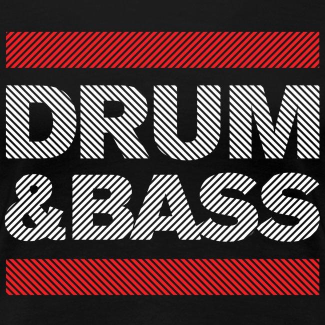 Run Drum and Bass T Shirt (Striped)