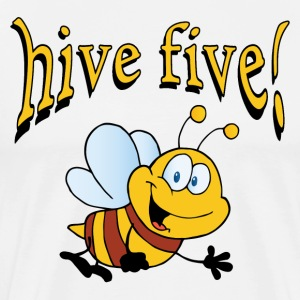 Hive Five! T-Shirts - Men's Premium T-Shirt