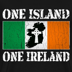 One Island, One Ireland - Men's Premium T-Shirt