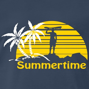 Summertime T-Shirts - Men's Premium T-Shirt