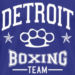 Detroit Boxing Team (Brass Knuckles) - Men's Premium T-Shirt