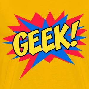 Comic book GEEK - Men's Premium T-Shirt