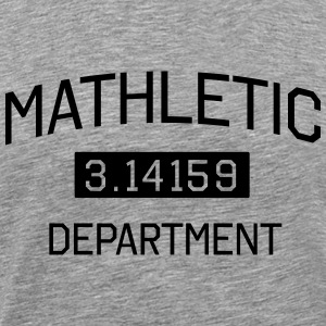 Mathletic Department T-Shirts - Men's Premium T-Shirt
