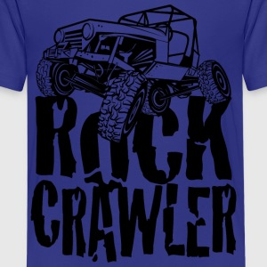 Rock Crawling Jeep Kids' Shirts - Kids' Premium T-Shirt