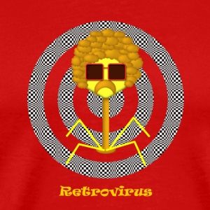 Retrovirus - Men's Premium T-Shirt