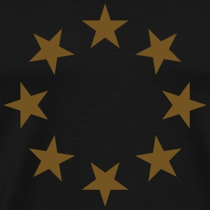 stars in a circle with glitz T-Shirts - Men's Premium T-Shirt