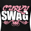 Curvy Girl Swag Shirt (Version 2 - 2 Color - Plus Sized) - Women's Premium T-Shirt