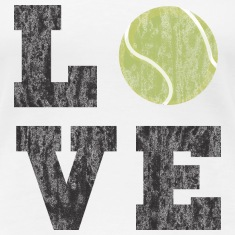 Vintage Tennis Love Women's T-Shirts
