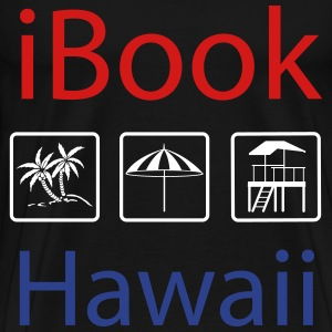 i Book Hawaii tricolor T-Shirts - Men's Premium T-Shirt