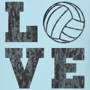Vintage Volleyball Love T-Shirts - Men's T-Shirt