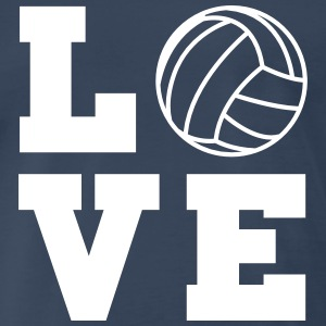 Volleyball Love T-Shirts - Men's Premium T-Shirt
