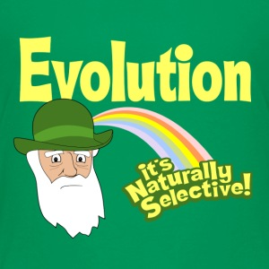 Evolution - it's Naturally Selective - Kids' Premium T-Shirt