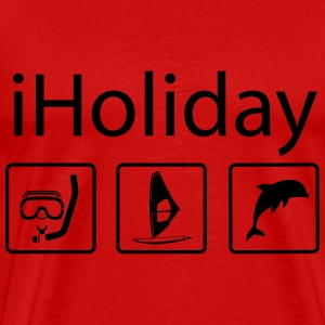 iHoliday T-shirts - T-shirt premium pour hommes